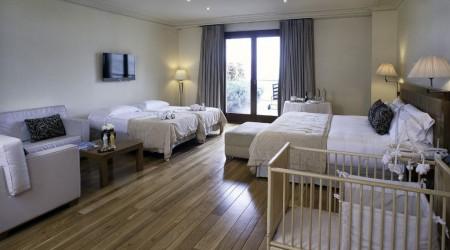 Suites y habitaciones de lujo en barcelona gran hotel la for Habitaciones para familias