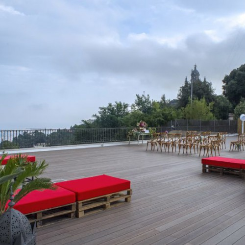 Terrace for social events