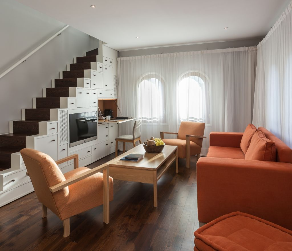Luxury Hotel Room Interior Design: Luxury Hotel Room Duplex In Barcelona